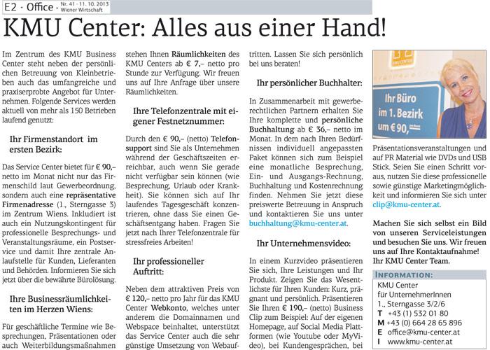 Wiener Wirtschaft 11.10.2014