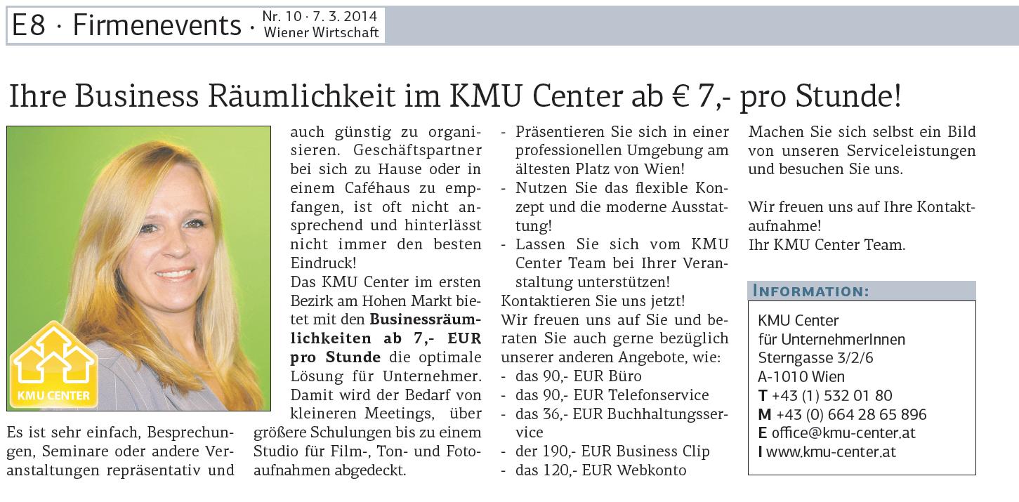 Wiener Wirtschaft 07.03.2014