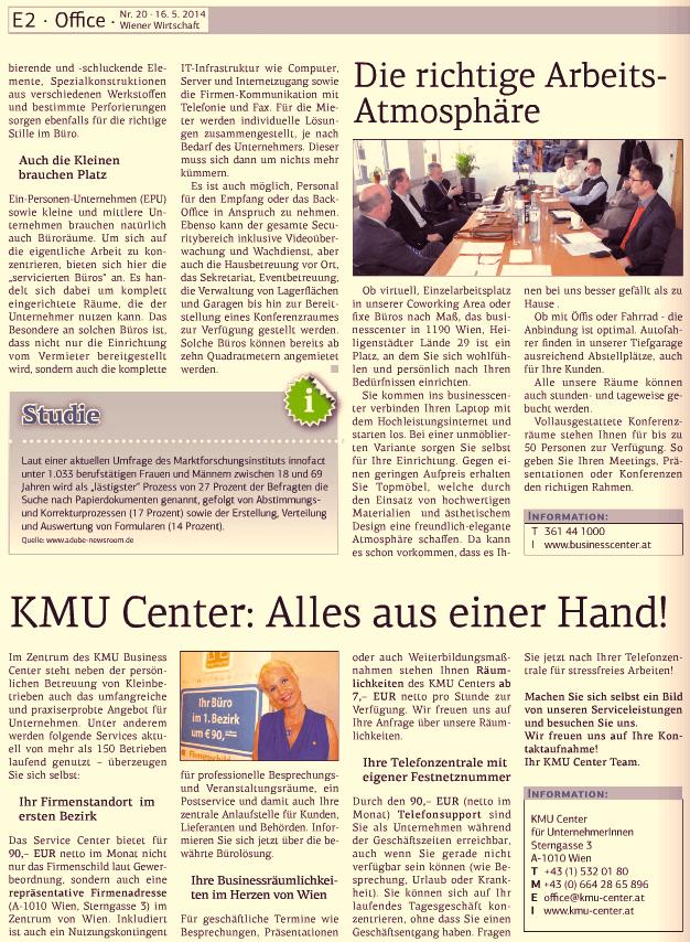 Wiener Wirtschaft 16.05.2014