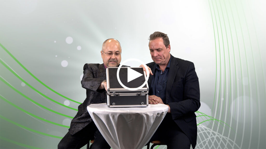 Harald Straub und Tom Berger entdecken die neusten Förderungen