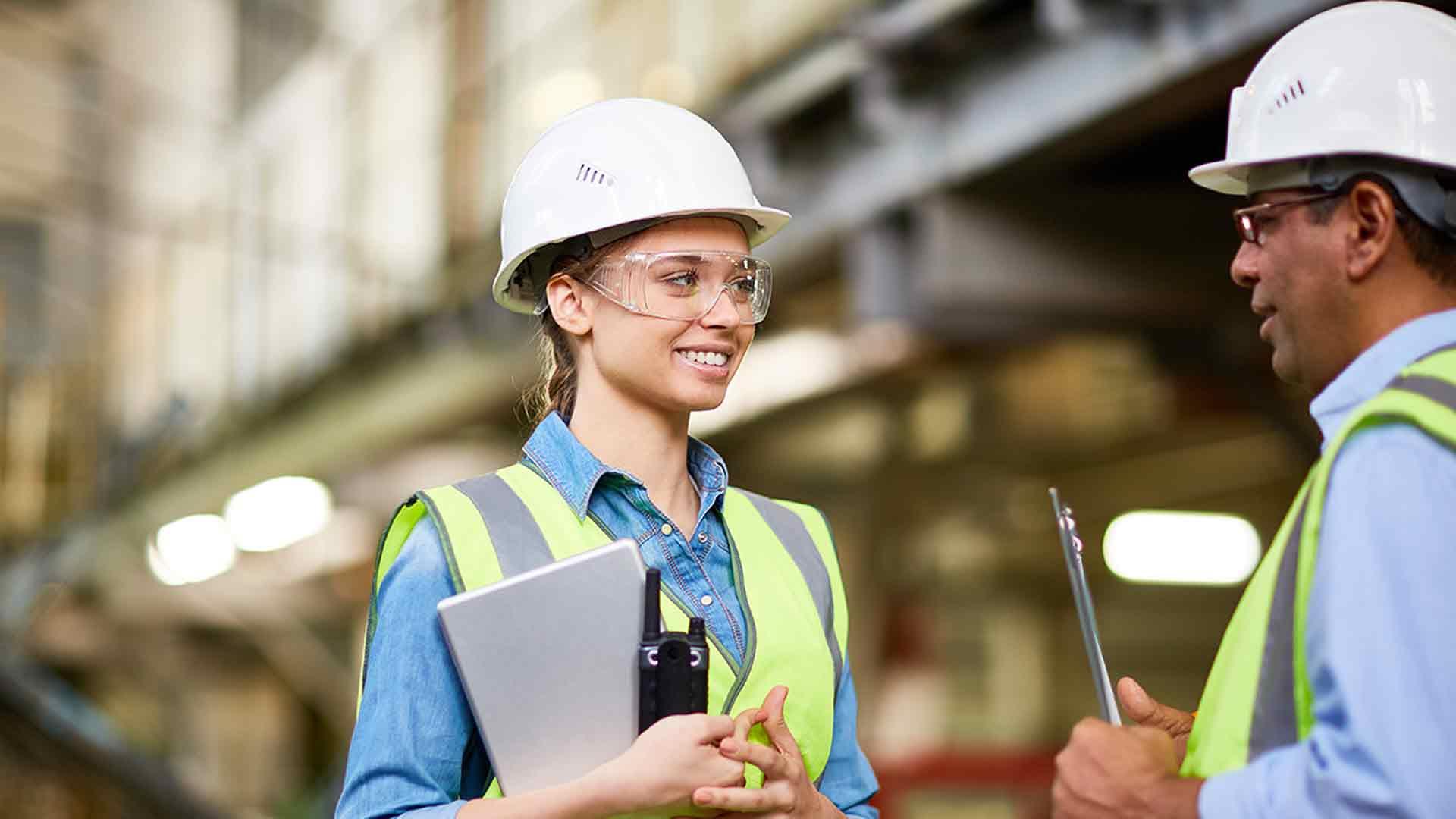 Bauarbeiter Lehrling