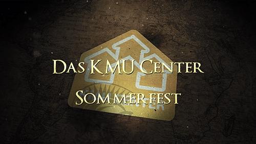 KMU Center Sommerfest 2017 Eventbild