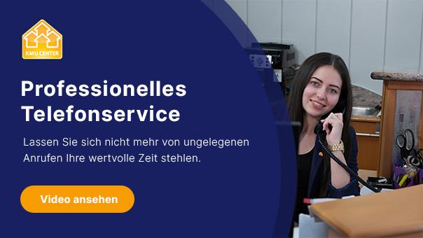KMU Center Telefonservice