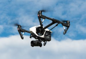 Drone im Flug