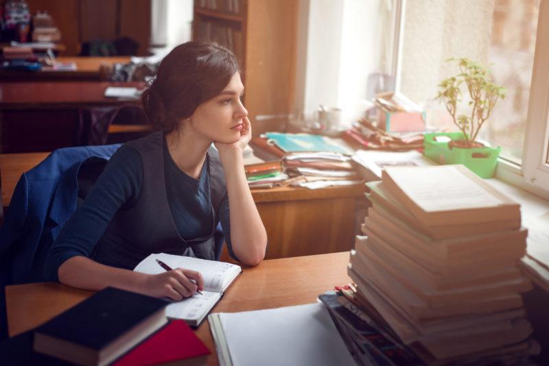 arbeitende Frau