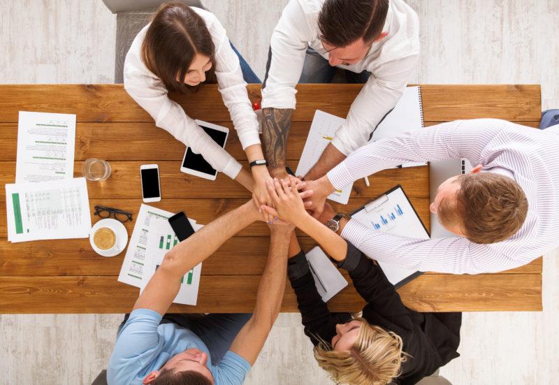 Teamwork Gründung eines Einzelunternehmens